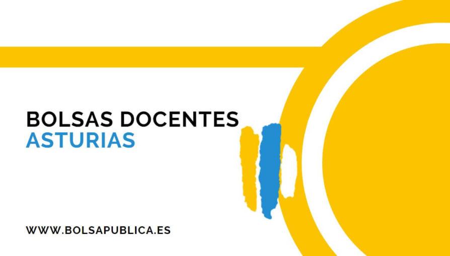 bolsas docentes en Asturias curso 2020-21