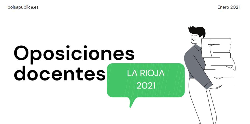 oposiciones educación la Rioja Secundaria, FP, ERE
