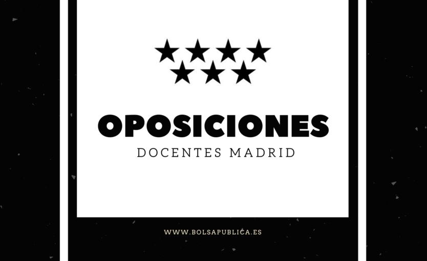 Oposiciones para Maestros y profesores en Madrid