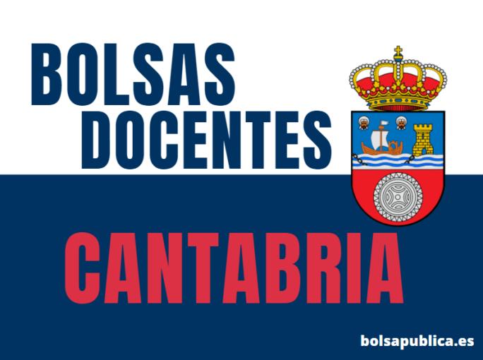 Bolsas de Educación en Cantabria curso 2021-22