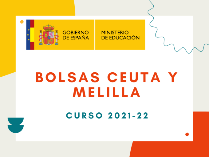 Bolsas docentes en Ceuta y Melilla 2022